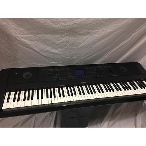 Used yamaha 2016 dgx 660 keyboard workstation guitar center for Yamaha 660 keyboard