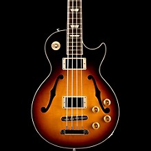 Gibson 2016 ES-Les Paul Semi-Hollow Electric Bass Guitar Dark Vintage Sunburst