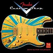 Hal Leonard 2016 Fender Custom Shop 16 Month Wall Calendar