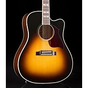 2016 Hummingbird Pro Acoustic-Electric Guitar Vintage Sunburst