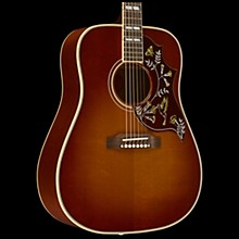 Gibson 2016 Hummingbird True Vintage Square Shoulder Dreadnought Acoustic Guitar Vintage Cherry