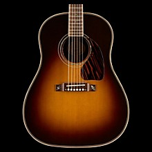 Gibson 2016 J-45 Custom Slope Shoulder Dreadnought Acoustic-Electric Guitar Vintage Sunburst