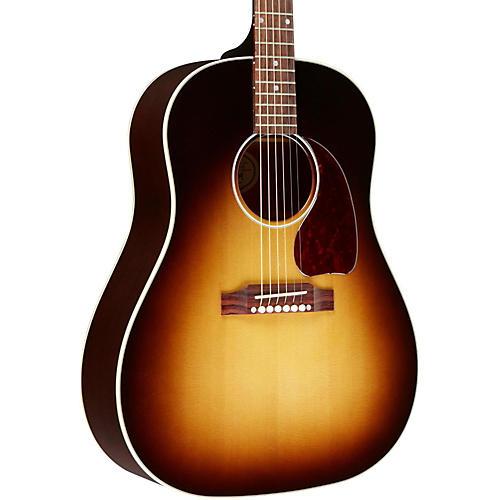 gibson 2016 j 45 standard slope shoulder dreadnought acoustic electric guitar vintage sunburst. Black Bedroom Furniture Sets. Home Design Ideas