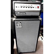 Ampeg 2016 Micro-VR 200W HALF STACK W/ AV210V CAB Bass Stack