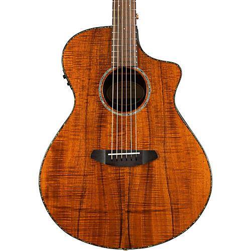 Breedlove 2016 Pursuit Concert Koa Acoustic-Electric Guitar