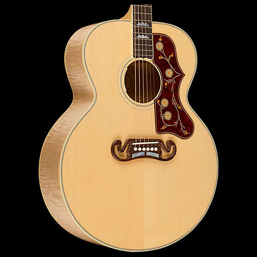 Gibson 2016 SJ-200 Standard Super Jumbo Antique Natural Acoustic-Electric Guitar-thumbnail