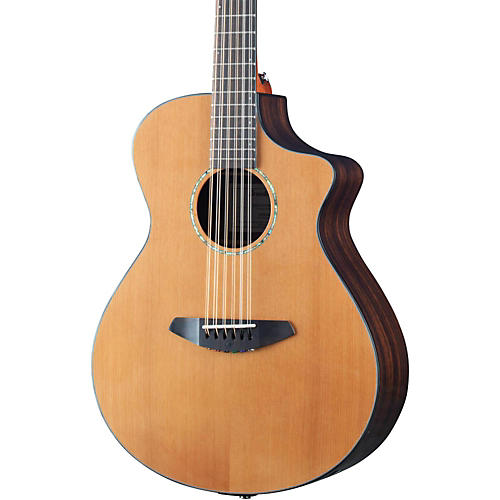 Breedlove 2016 Solo 12 String Acoustic Electric Guitar Natural
