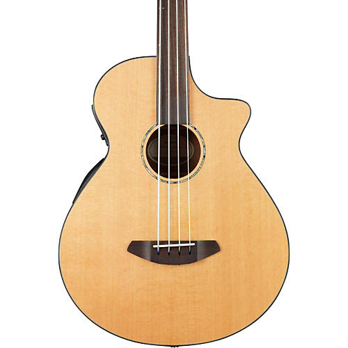 Breedlove 2016 Solo Fretless Acoustic Electric Bass-thumbnail