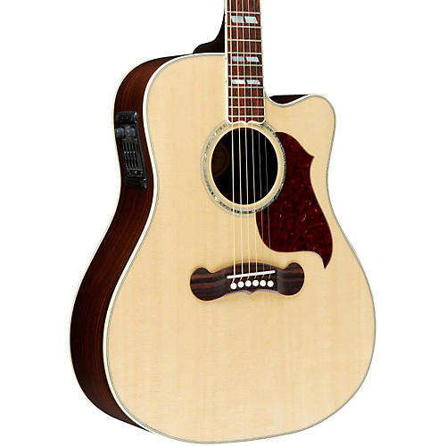 Gibson 2016 Songwriter Deluxe Studio EC Dreadnought Acoustic-Electric Guitar-thumbnail