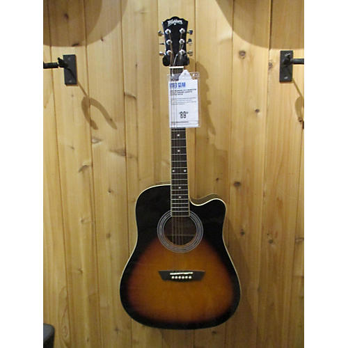 Washburn 2016 WA90CEVSB Acoustic Electric Guitar