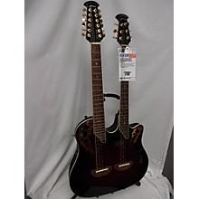 Ovation 2017 CSE225 Celebrity Double Neck Acoustic Electric Guitar
