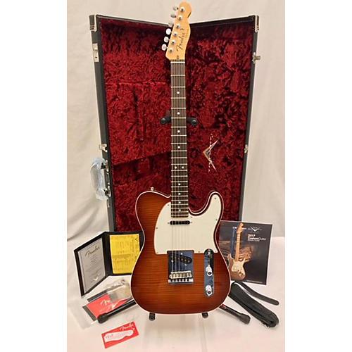 Fender 2017 Custom Shop American Custom Telecaster Maple Top Solid Body Electric Guitar