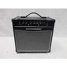 Acoustic 2017 G20 20W 1x10 Guitar Combo Amp