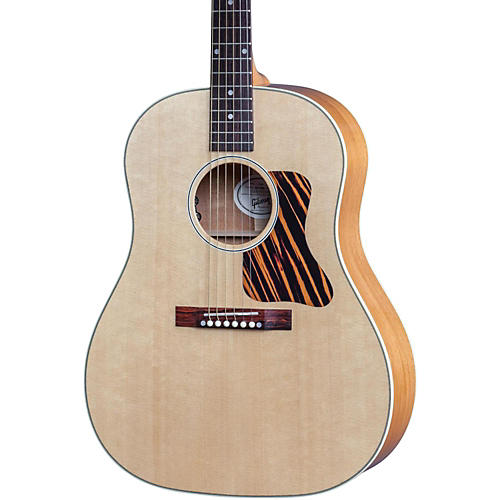 Gibson 2017 J-35 Slope Shoulder Dreadnought Acoustic-Electric Guitar Antique Natural