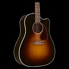 Gibson 2017 J-45 Slope Shoulder Dreadnought Acoustic-Electric Guitar Vintage Sunburst