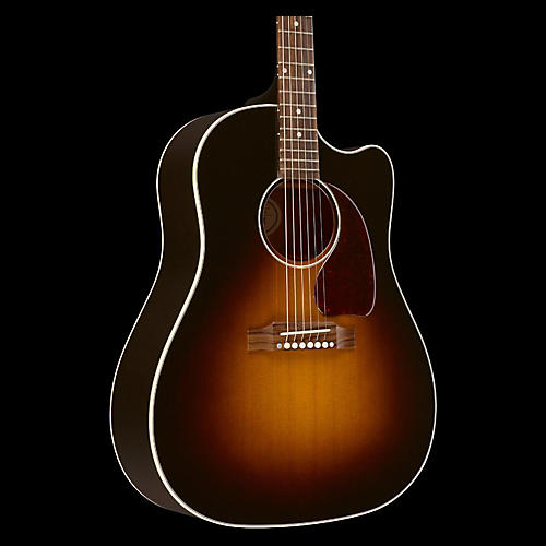 Gibson 2017 J-45 Slope Shoulder Dreadnought Acoustic-Electric Guitar-thumbnail