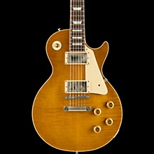 Gibson Custom 2017 Limited Run Burstdriver Les Paul Standard Lightly Figured Top Amber Ale Cream Pickguard