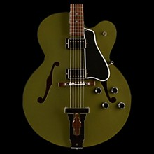 Gibson Custom 2017 Limited Run L-5 Studio Hollowbody Electric Guitar Army Green 5-ply Black Pickguard