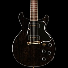 2017 Limited Run Les Paul Special Double Cut Electric Guitar TV Black Gold 5-ply Black Pickguard