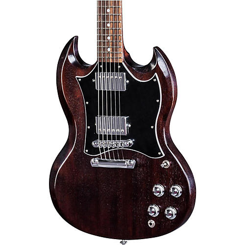 Gibson 2017 SG Faded HP Electric Guitar Worn Brown