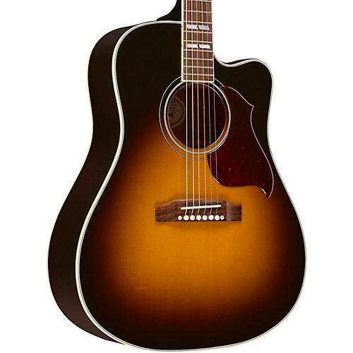 gibson 2018 hummingbird pro ce acoustic electric guitar vintage sunburst guitar center. Black Bedroom Furniture Sets. Home Design Ideas