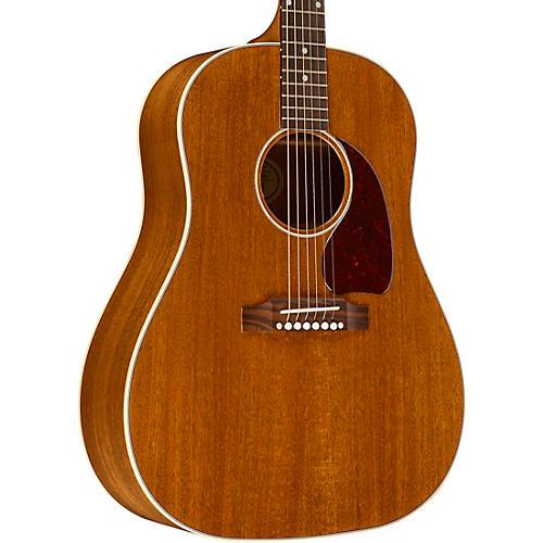 gibson 2018 j 45 mahogany acoustic electric guitar antique natural guitar center. Black Bedroom Furniture Sets. Home Design Ideas
