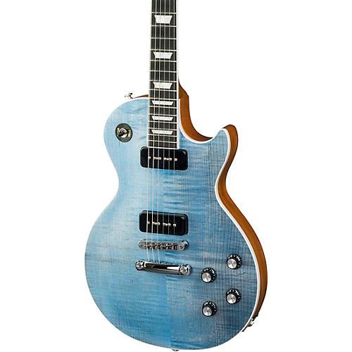 gibson 2018 les paul classic player plus electric guitar ocean blue guitar center. Black Bedroom Furniture Sets. Home Design Ideas