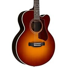 Gibson 2018 Parlor Rosewood Avant Garde Burst Acoustic-Electric Guitar