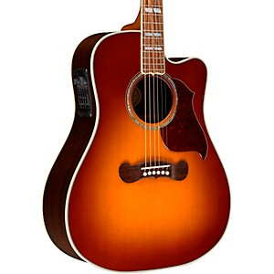 Gibson 2018 Songwriter Studio EC Burst Acoustic-Electric Guitar by Gibson