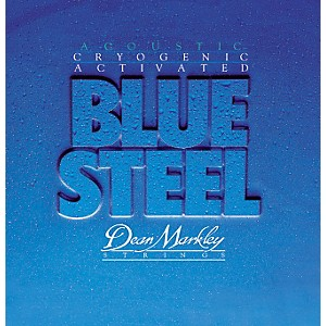 Dean Markley 2034 Blue Steel Cryogenic Light Acoustic Guitar Strings by Dean Markley