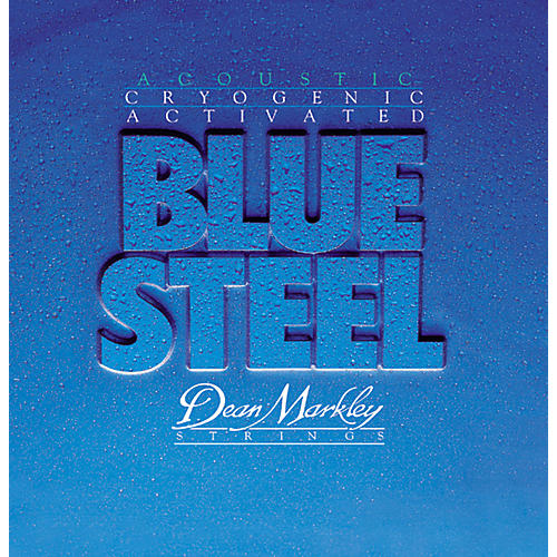 Dean Markley 2035 CL Blue Steel Cryogenic Acoustic Guitar Strings