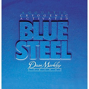 Dean Markley 2038 Blue Steel Cryogenic Medium Acoustic Guitar Strings by Dean Markley