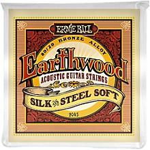 Ernie Ball 2045 Earthwood 80/20 Bronze Silk and Steel Soft Acoustic Guitar Strings