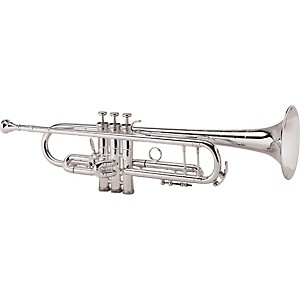 King 2055 Silver Flair Series Bb Trumpet by King