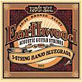 Ernie Ball 2063 Earthwood 80/20 Bronze 5-String Banjo Bluegrass Strings thumbnail