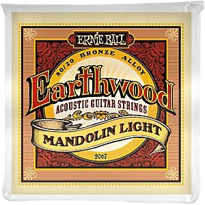 Ernie Ball 2067 Earthwood 80/20 Bronze Mandolin Light Strings by Ernie Ball