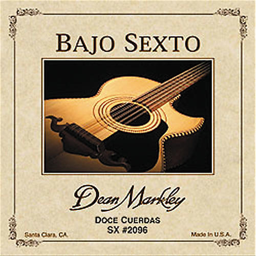 Dean Markley 2096 Bajo Sexto SX 12-String Acoustic Guitar Strings-thumbnail