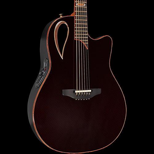 Adamas 2098-AV40 40th Anniversary Adamas Contour Bowl Acoustic-Electric Guitar Ruby Gloss
