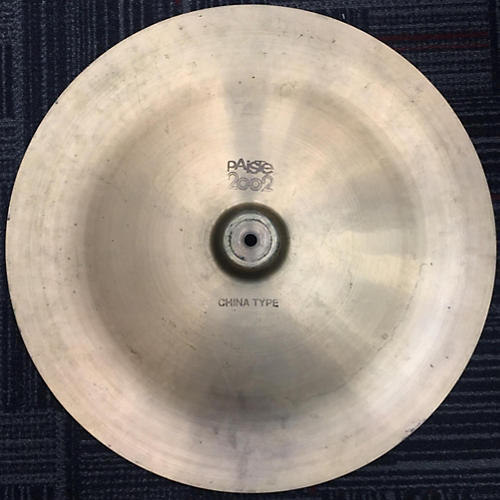 Paiste 20in 2002 China Boy Cymbal