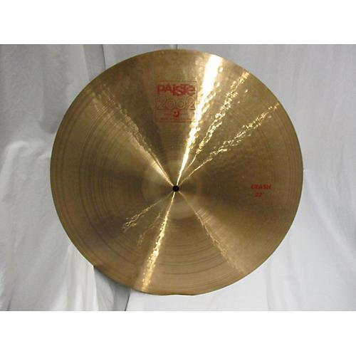 Paiste 20in 2002 Crash Cymbal-thumbnail