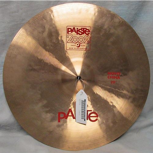 Paiste 20in 2002 Nova Cymbal