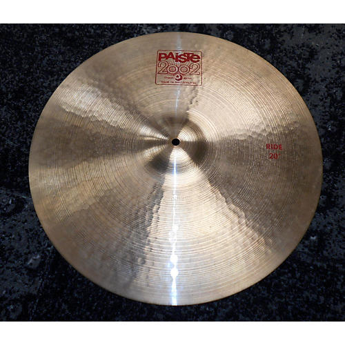 Paiste 20in 2002 Ride Cymbal-thumbnail