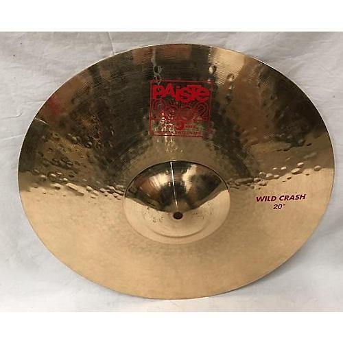 Paiste 20in 2002 Wild Crash Cymbal