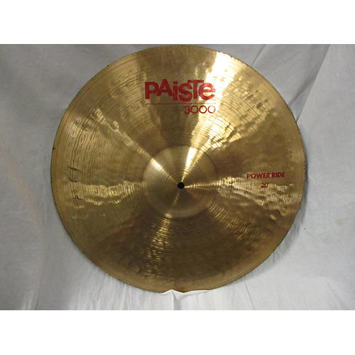 Paiste 20in 3000 Power Ride Cymbal
