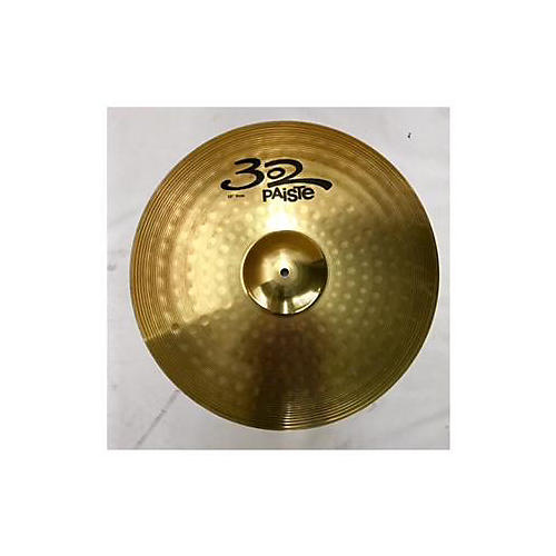 used paiste 20in 302 ride cymbal guitar center. Black Bedroom Furniture Sets. Home Design Ideas