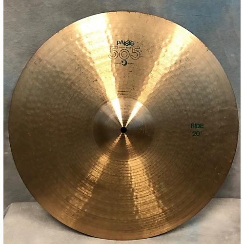 used paiste 20in 505 ride cymbal guitar center. Black Bedroom Furniture Sets. Home Design Ideas