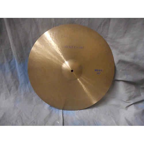 Paiste 20in 602 Formula Heavy Ride Cymbal