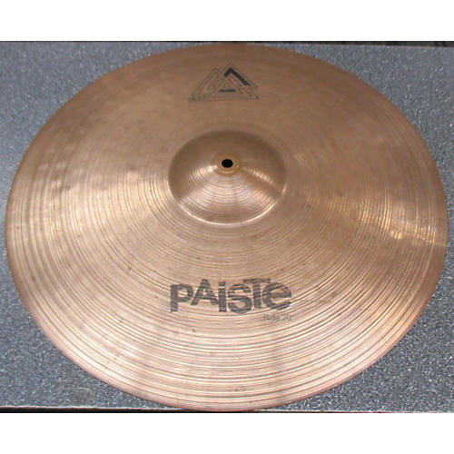 used paiste 20in 802 ride cymbal 40 guitar center. Black Bedroom Furniture Sets. Home Design Ideas