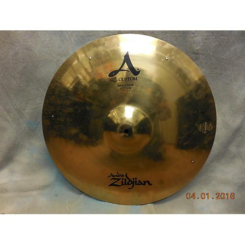 Zildjian 20in A CUSTOM SIZZLE RIDE Cymbal  40