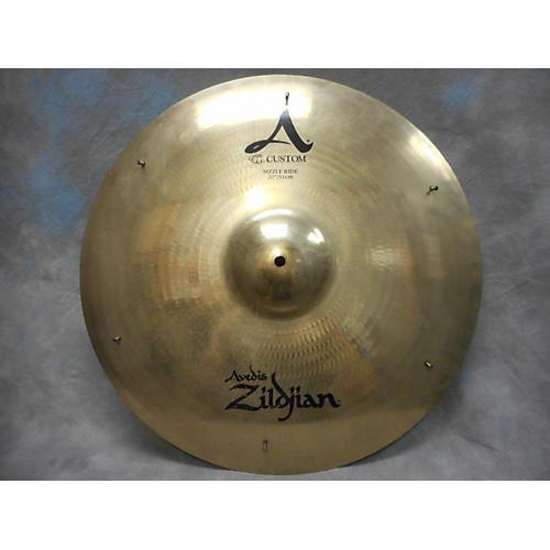 Zildjian 20in A Custom Medium Sizzle Ride Cymbal-thumbnail